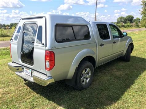 2011 nissan frontier crew cab 4wd w are walkin cer shell 4 0l v6 tow pkg for sale photos