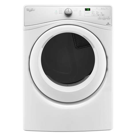 whirlpool front load washer whirlpool 4 5 cu ft front load washer with adapative wash technology in white 8 cycles