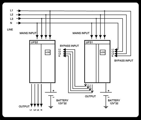 3 phase ups wiring diagram wiring diagrams