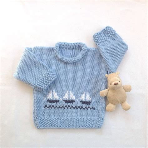 baby knitted jumper baby boy sweater 6 to 12 months infant knit jumper