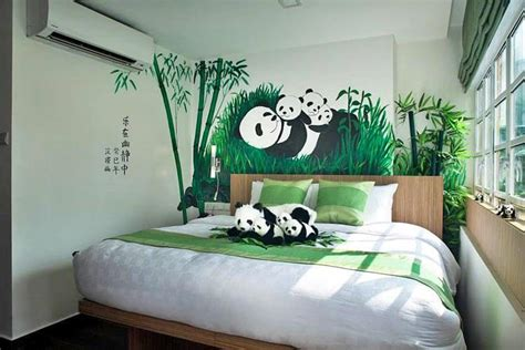 panda bedroom hotel clover the arts clarke quay singapore