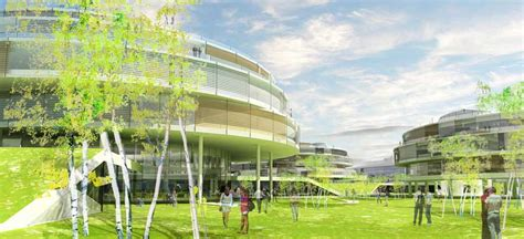 Architectural Building Plans by Albano University Campus Stockholm Sweden Architect E