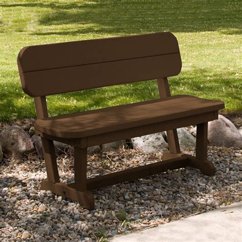 polywood benches outdoor polywood pb48 park outdoor bench