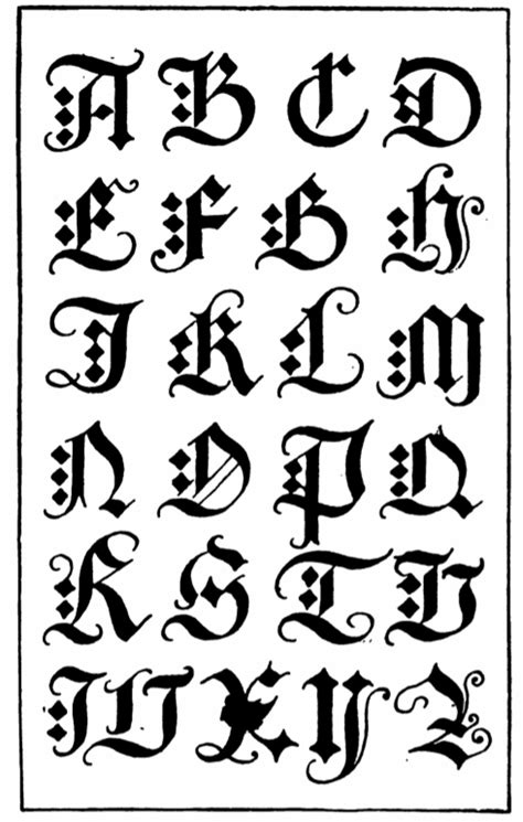 gothic tattoo alphabet the cpuchipz tattoo ideas october 2013