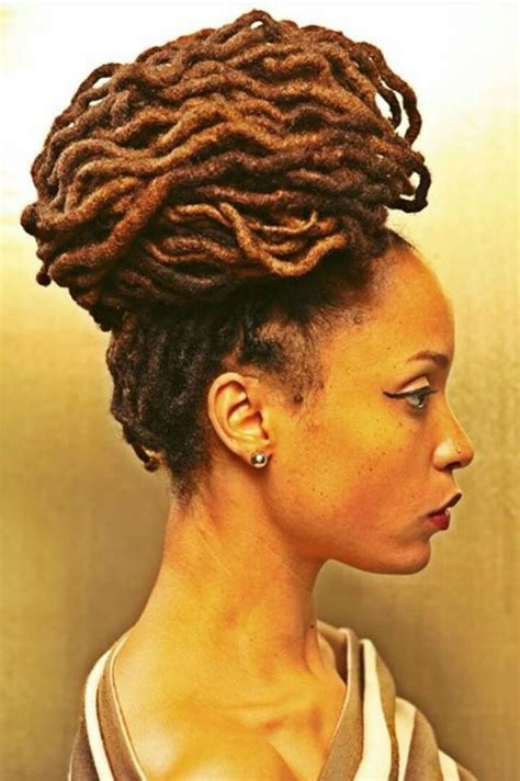 dreadlocks hairstyles for women over 50 thebombdiggity dreadlock hairstyles pinterest bun