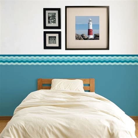 wall borders for bedrooms custom wallpaper borders personalized your photo wall
