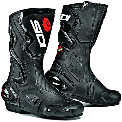motorcycle track boots sidi cobra motorbike motorcycle race sports bike