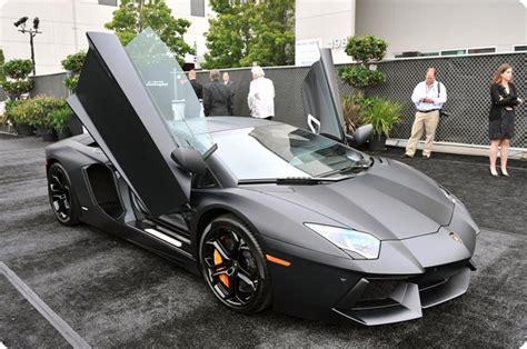 Black Matte Lamborghini Aventador Karznshit 11 Lamborghini Aventador Matte Black