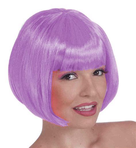 Light Purple Wig by Purple Wigs Light Purple Colored Wig