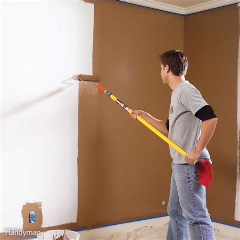 painting a wall painting tips the family handyman