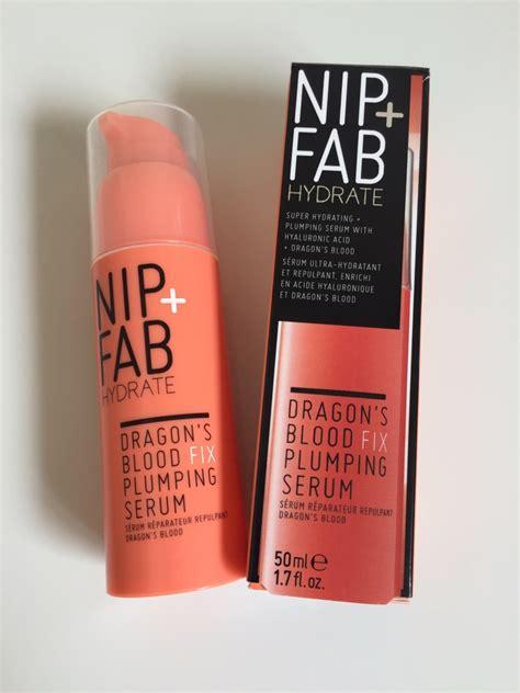Nip Fab S Blood Fix Plumping Serum 20ml nip fab dragons blood fix serum my journal