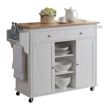 meryland white modern kitchen island cart 17 best ideas about rolling kitchen island on pinterest