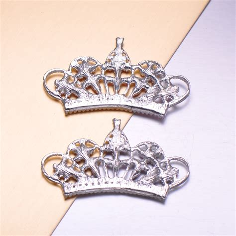 Crown Brooch modern crown brooch design to embellish wedding cards