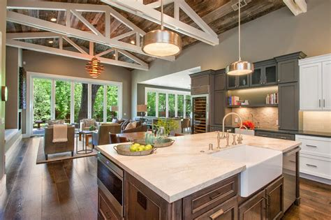 Beautiful Farmhouse Style Ranch Home designed for Outdoor