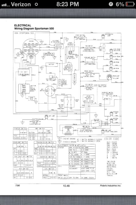 2004 polaris sportsman 400 wiring diagram 2007 polaris