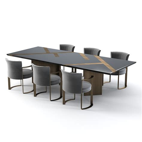 fendi casa dining table 3d model fendi casa margutta