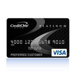 credit one credit one bank credit cards review