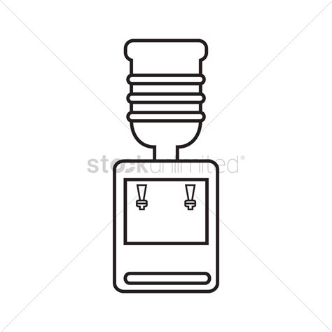 Water Dispenser Vector water dispenser vector image 1465671 stockunlimited