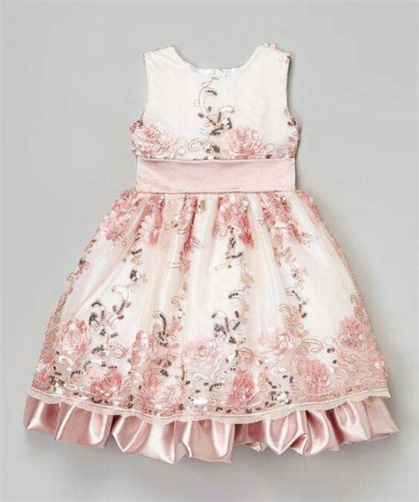 Anya Flower Pink Semi Baby Dress Baju Anak F0623 696 best pola baju anak images on