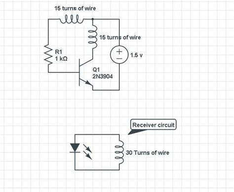 wireless power circuit diagram wireless electricity transmission circuit 9 steps with