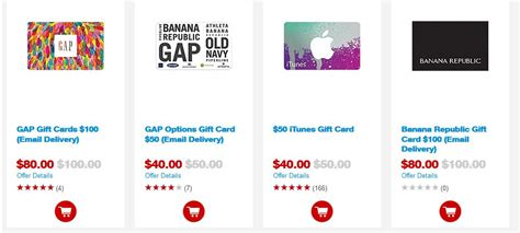 Staples Gap Gift Card 20 Off - staples 20 off apple itunes and gap inc gift cards shopportunist