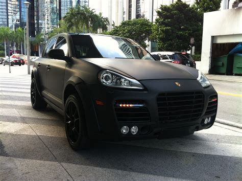 porsche matte porsche cayenne with black matte finish big