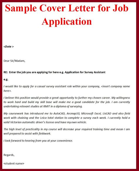 Job Application Letter With Resume by Sample Cover Letter Job Application Pdf Resume Template