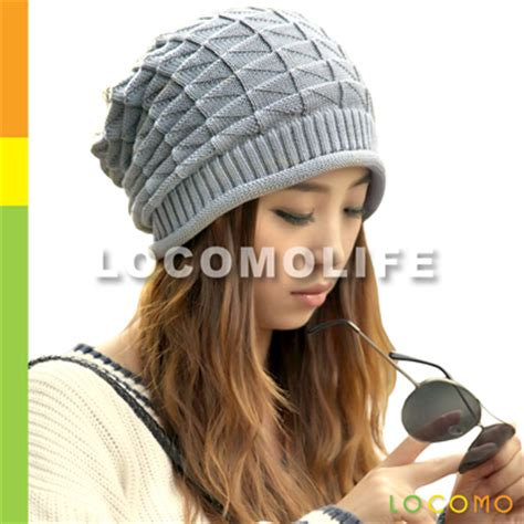 items similar to slouchy womens triangle pattern slouchy knit beret crochet hat cap