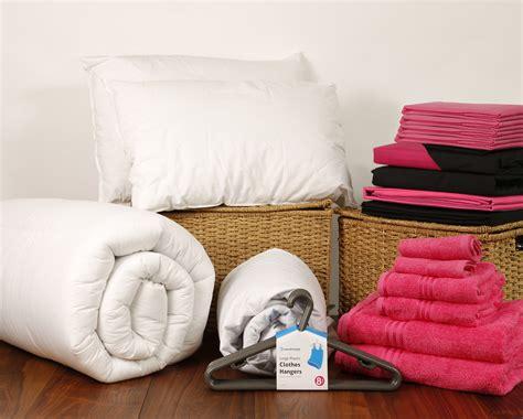comfort linen student linen home comfort pack reversible pink and