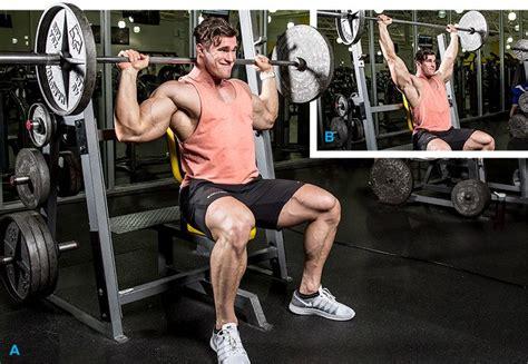 bench press to neck calum von moger s delt demolition workout