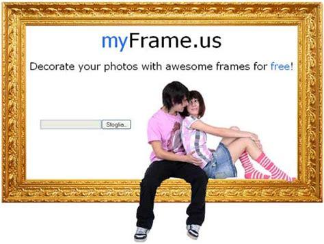 cornici foto on line cornici per le tue fotografie nuove notizie