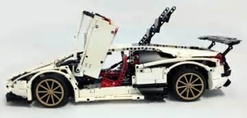 Lego Technic Lamborghini by Lego Technic Lamborghini Murcielago The Lego Car
