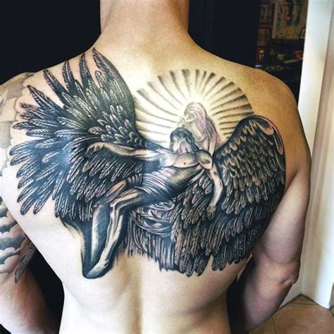 tattoo angel wings for guys top 100 best wing tattoos for men designs that elevate