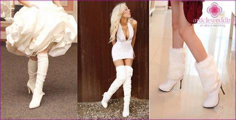 Stiefel Zur Hochzeit by Wei 223 E Schuhe F 252 R Die Hochzeit Stiefel Stiefel Und
