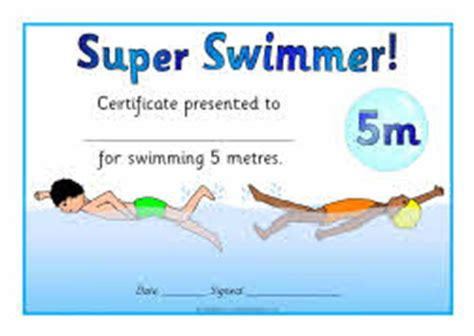 swimming award certificate template swimming distance certificates sb5328 sparklebox