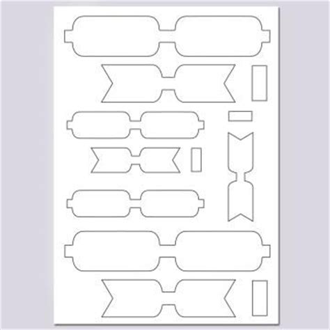 paper bows template image 1 decoupage 3d pinterest