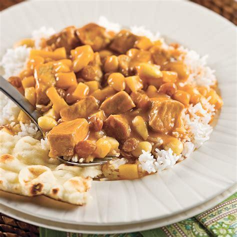 cuisine et mijot駸 mijot 233 de porc de madras recettes cuisine et nutrition
