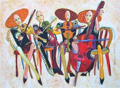 Arts String Quartet - w michael bush