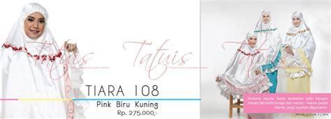 Mukena Zenitha 12 mukena tiara series butik tas batik