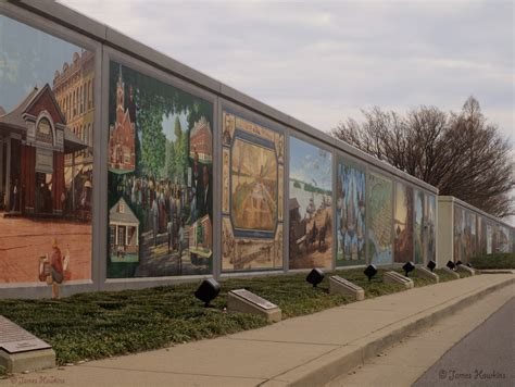 Garage Wall Mural 1937 and 2011 ohio river flooding in paducah ky natural