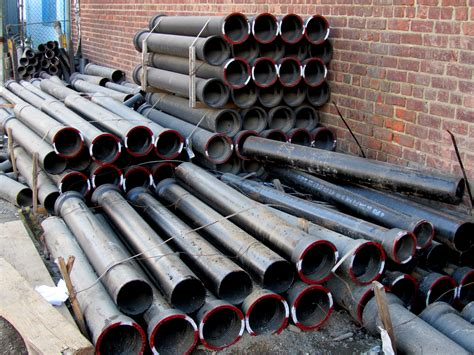 Iron Plumbing Pipe by Nyc Water And Sewer Contractor Invests In Its Business