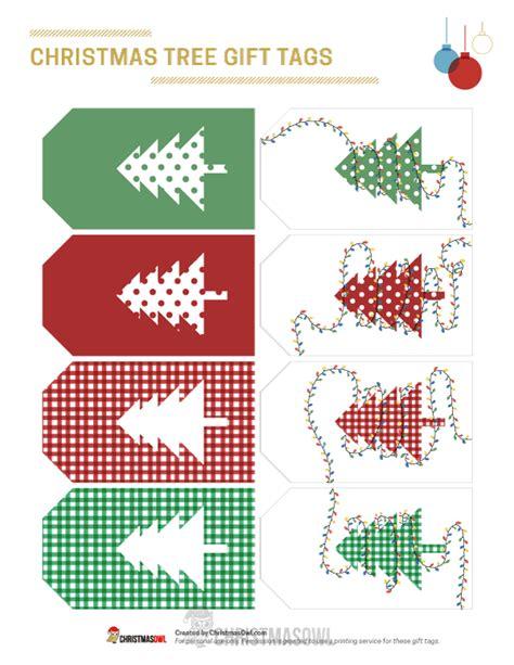 printable christmas tree gift tags printable christmas tree gift tags