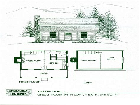 log cabin open floor plans small cabin floor plans with loft open floor plans small