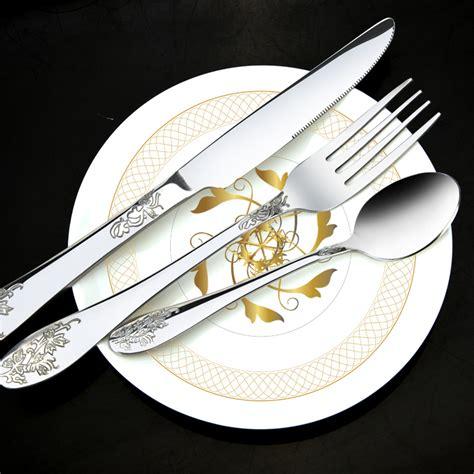 Luxury Kitchen Knife Set Popular Beautiful Flatware Buy Cheap Beautiful Flatware