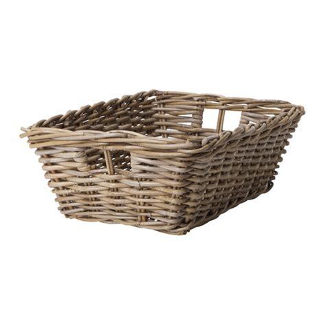 ikea baskets byholma basket grey 36x51x17 cm ikea