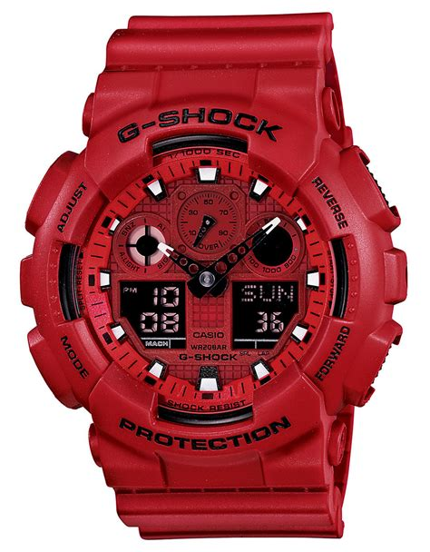 Jam Casio G Shock Ga 100c 4a the gallery for gt g shock