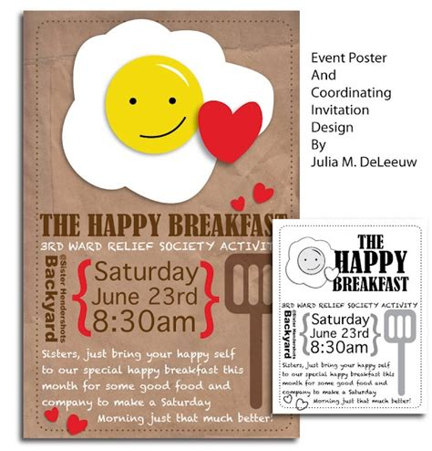 templates for breakfast invitations image gallery breakfast invitations