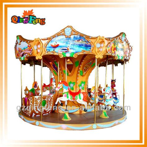 Outdoor Carousel Decoration by 2014 Amusement Wholesale Carousel