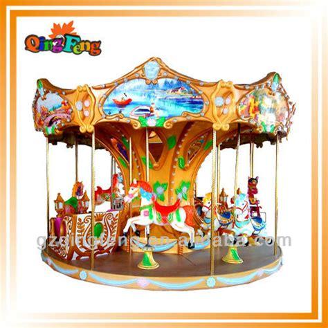 outdoor carousel decoration 2014 amusement wholesale carousel