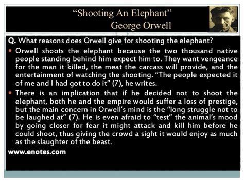 george orwell biography shooting an elephant shooting an elephant by i s